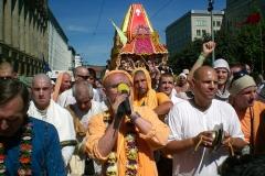 Ratha Yatra and initiation in Leipzig / Radhastami in Berlin, 2011